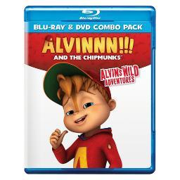 Alvinnn & the chipmunks-alvins wild adventures (blu ray/dvd conla BR04247