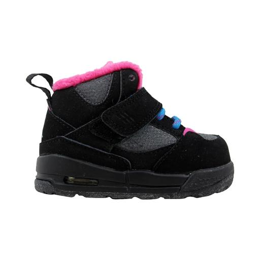 newest c0951 c365a Nike Air Jordan Flight 45 TRK TD Black Dynamic Blue-Dark Grey-Vivid Pink  467931-008