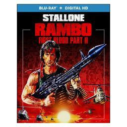 Rambo-first blood part 2 (blu ray w/digital hd) (ws/eng/eng sdh/5.1 dts-hd) BR47387