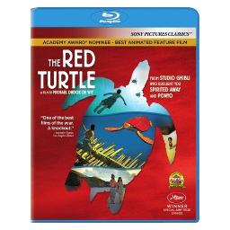 Red turtle (blu ray) (1.85/ws/5.1 dol dig) BR49987