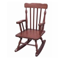 Childs Spindle Rocking Chair- Cherry