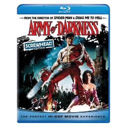 Army of darkness (blu ray) (screwhead edition) BR61109066