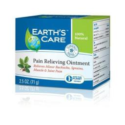 Earths Care HG1216159 2.5 oz Pain Relieving Ointment