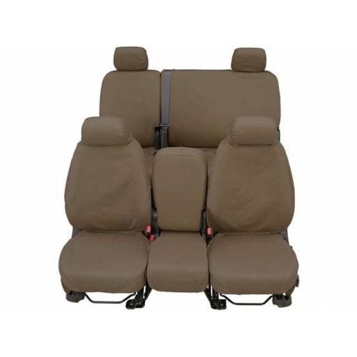 Covercraft SS2299WFTP 2000-2005 Ford Excursion Seat Cover - Front, Taupe 8KWJKDSZHTLTP2M2