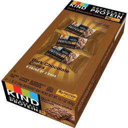 Sprichards KND25954 Breakfast Protein Bars - Dark Chocolate Cocoa, 1.76 oz. Pack of 8