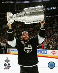 Dwight King with the Stanley Cup Game 5 of the 2014 Stanley Cup Finals Photo Print PFSAARB04201