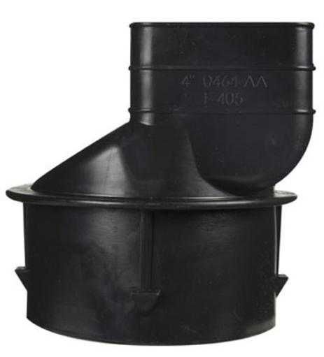 Ads 464 Downspout Adapter 3-1/4