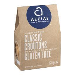 Aleia's Gluten Free Classic Croutons - Case of 6 - 8 oz.