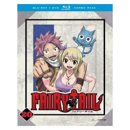 Fairy tail-part 20 (blu-ray/dvd combo/4 disc) BRFN01520