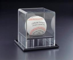 Acrylic Lucite Baseball Showcase Box  4 3/4 x 4 3/4 x 4 3/4 inches
