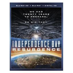 Independence day 2-resurgence (blu-ray/3d/digital hd) (3-d) BR2330498