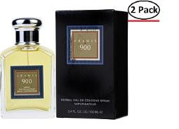 Aramis 900 By Aramis Eau De Cologne Spray 3.4 Oz (New Packing) For Men (Package Of 2)