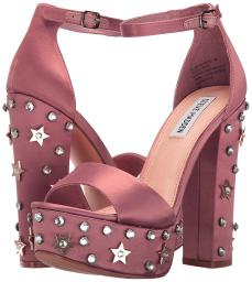 Steve Madden Glory Platform Studded Dress Sandals, Dusty Rose
