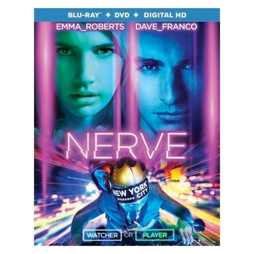 Nerve (blu ray/dvd)(ws/eng/eng sub/span sub/eng sdh/5.1dts-hd) HJMXOKVUELSRVC2Y