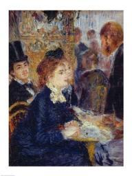 At the Cafe Poster Print by Pierre-Auguste Renoir BALBAL20082