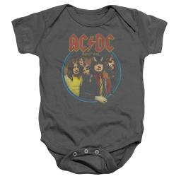 ACDC Highway To Hell Unisex Baby Snapsuit CHARCOAL