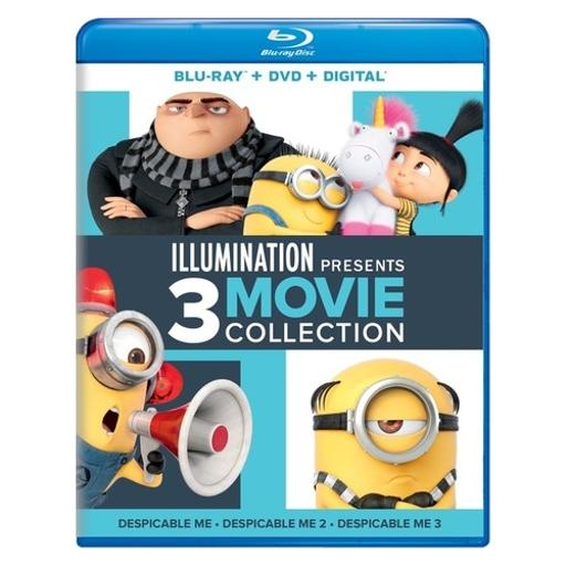 Illumination presents-3-movie collection (blu ray/dvd) EN84XJVS4C7BQIMF