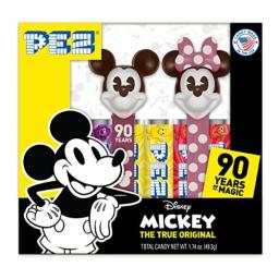 PEZ Candy Twin Pack Mickey 90th, 5.3 Ounce