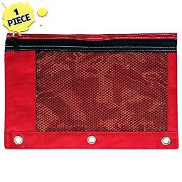 Red Pencil Pouch by Schoolio