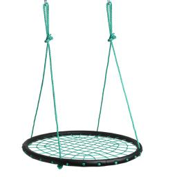 Children Web Swing Playground Platform Net Swing Nylon Rope Detachable 1M/40inch Diameter