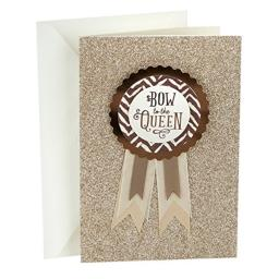Hallmark Mahogany Mother's Day Card (Wearable Badge)