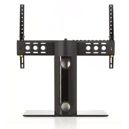 AVF B602BB-A Universal Table Top TV Stand / TV Base - Adjustable Tilt and Turn - Fits Most 46 to 65-Inch TVs - Black