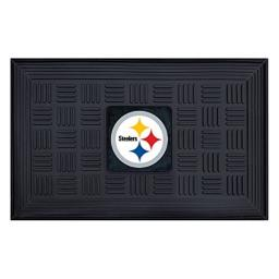 FANMATS NFL Pittsburgh Steelers Vinyl Door Mat