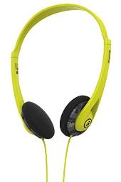 2XL Wage Light weight Headphone X5WGGZ-823 (Dark Gray/Black/Hot Lime)