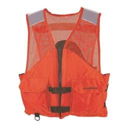 Stearns work zone gear life vest i424 3xl orange 2000011414