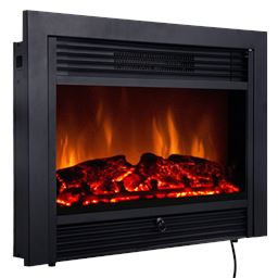28.5 Electric Embedded Insert Heater Fireplace""