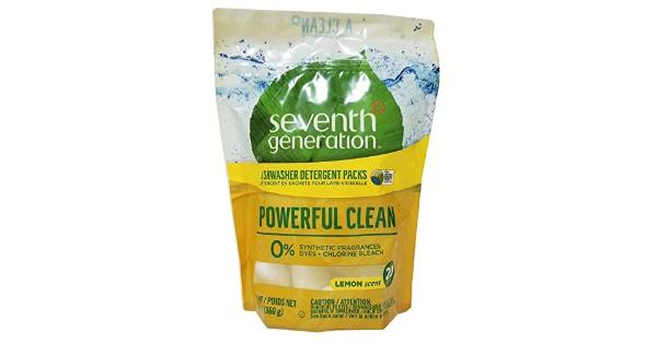 Seventh Generation Auto Dish Packs - Free and Clear - Case of 12 - 20 Count Our easy-to-use dishwasher packs give you the perfect amount of grease fighting dishwasher detergent for a total clean the first time, leaving no iffy scents behind.