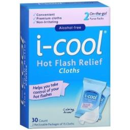 i-cool Hot Flash Relief Cloths by iCool