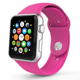 Lizatech Soft Silicone Replacement Sports Band For Apple Watch