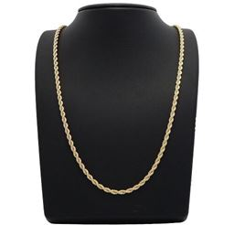 14k Gold Filled 2mm Rope Chain