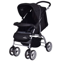 3 in 1 Foldable Steel Baby Stroller with PRAM Safety Seat
