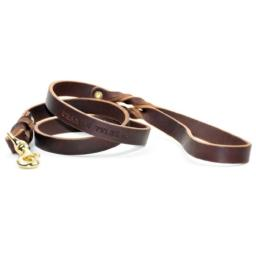 Dean and Tyler Love To Walk Dog Leash, Brown, 3/4-Inch by 6-Feet