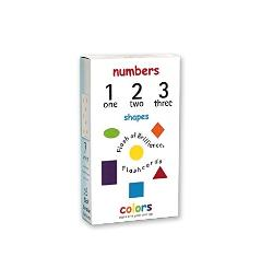 Flash Of Brilliance Numbers Shapes And Colors Flash Cards With Spanish, French, And Portuguese Translations For Each Number