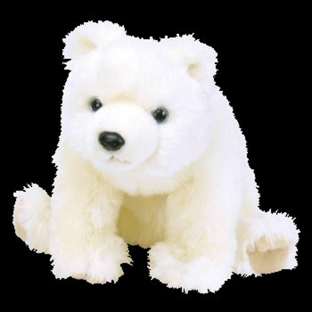 TY classic Plush - IcEBERg the Polar Bear (large size w/ large tag - 18 inch)