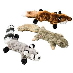"""Ethical Pets 54192 Pals Figures Stretching Squeak Dog Toy, 18"""", Assorted"""