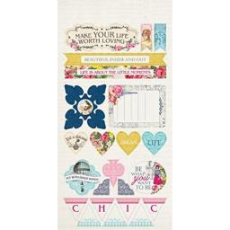 Authentique Dame 6x12 Components Die Cut Sheet