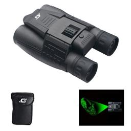 Cassini 10x Green Laser Day/Night Binocular with Case