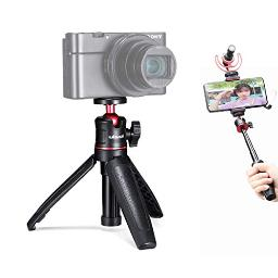 Ulanzi Mt08 Mini Extendable Handheld Tripod Compatible With Iphonesamsunggoogle Smartphone Clamp For Travel Vlogging Compact Travel, 14 Tripod Head