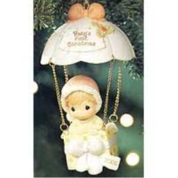 Enesco Precious Moments **Baby's First Christmas Ornament, 2002** 104204