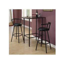 "Offex OFX-284317-MO Black 43""H Swivel Bar Stool"