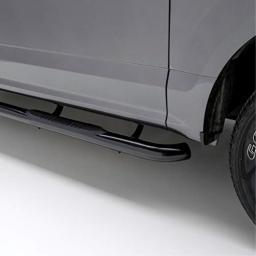 ARIES 201005 3-Inch Round Black Steel Nerf Bars Select Jeep Liberty