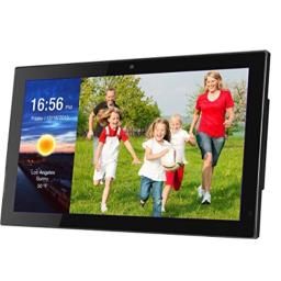 "[New Update] 19"" Smart WiFi Cloud Digital Photo Frame w/Camera -Includes 20GB Free Cloud Storage, iPhone & Android APP, Facebook, Dropbox, Real-time Photos, Movie Playback"