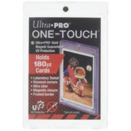 Ultra Pro (5) 180pt One Touch Magnet Card Holders for Thicker Baseball Football Basketball and other Trading Cards
