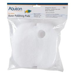 Aqueon QuietFlow Water Polishing Pads, Small, Pack of 2