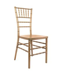 Offex Contemporary Stackable Traditional Gold Resin Chiavari Chair