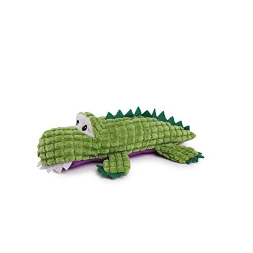 Zanies Corduroy Crocodile Dog Toys, Small